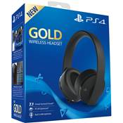CASQUE STEREO WIRELESS 2.0 SONY GOLD /6 - PS4