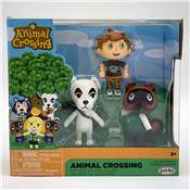 NINTENDO SET DE 3 FIGURINES ANIMAL CROSSING