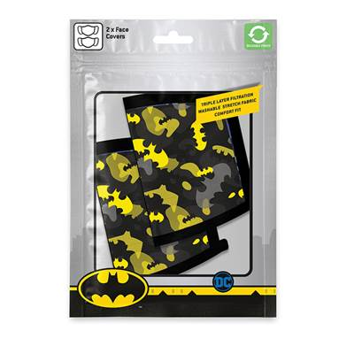 DC COMICS MASQUE SOUS LICENCE BATMAN CAMO YELLOW